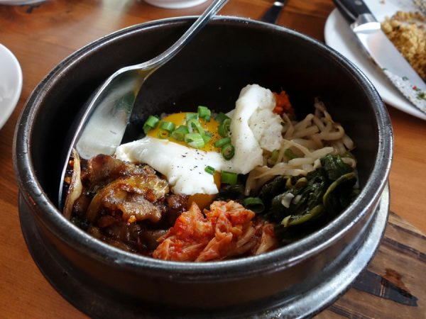 Bim bop bacon & eggs at Tasty n Alder
