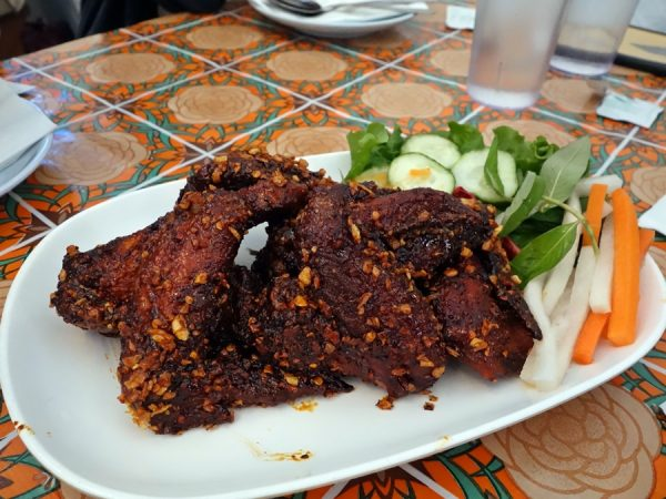 Ike's Vietnamese fish sauce wings at Whiskey Soda Lounge