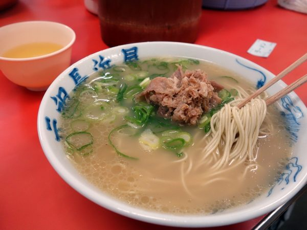 Ganso Nagahama's tonkotsu ramen