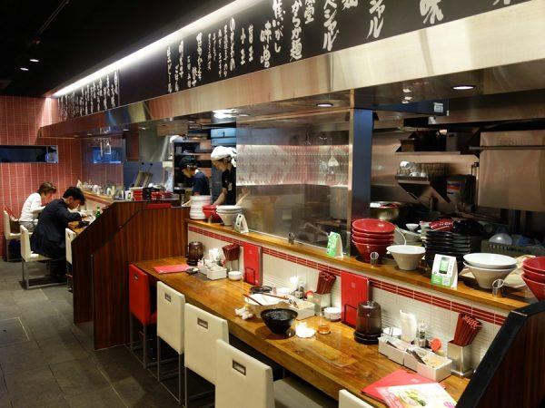 Inside Ippudo in Tokyo