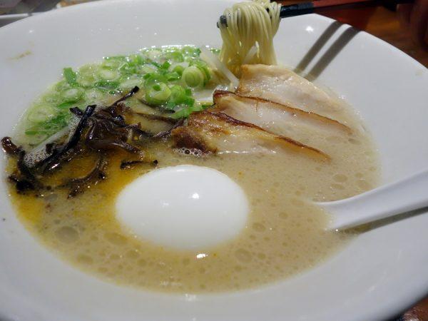 Ippudo's tonkotsu ramen