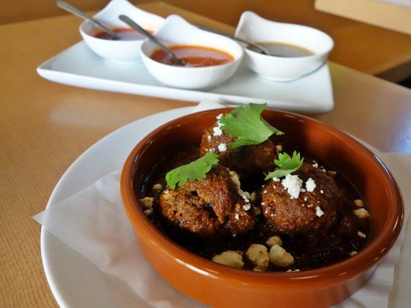 Porkchop & Co. chorizo meatballs