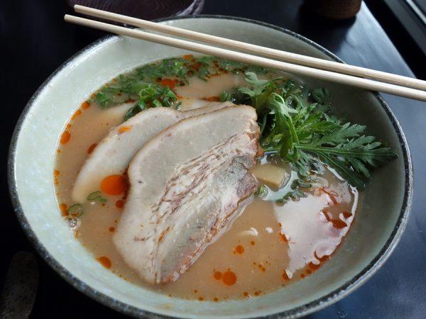 Shibumi's tonkotsu ramen