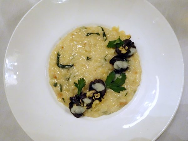 Snail risotto at Colt & Gray