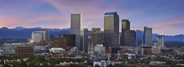 Denver skyline (Photo courtesy of Ron Ruscio and VISIT DENVER)