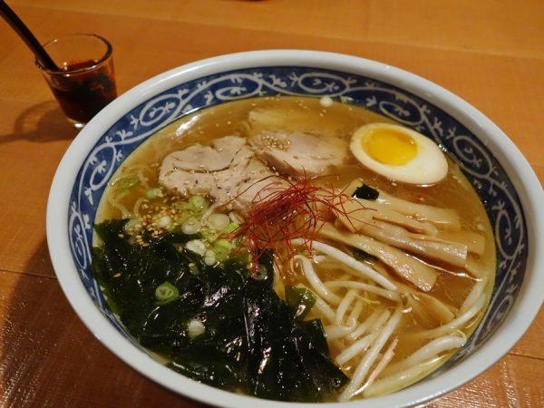 Shio ramen at Miyabi 45th