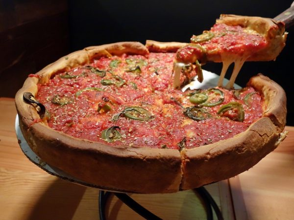 "12"" deep-dish delight (you can order one size larger!)"
