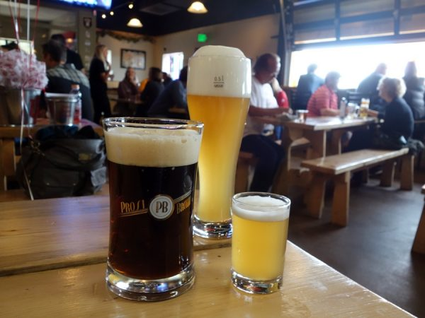 Beer at Prost Brewing Company