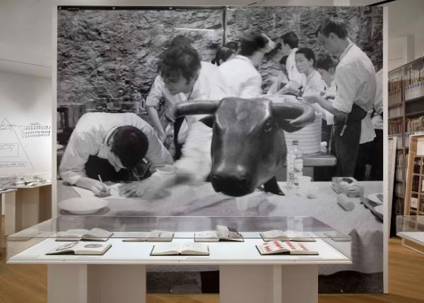 Ferran Adrià installation (courtesy of MOCA Cleveland)