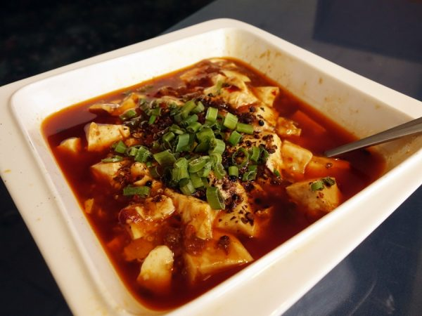 """I had to try the highly touted ma po tofu. Loved the silky smooth tofu, but wanted the dish a little meatier, and with a little more """"ma"""" from Sichuan peppercorn."""