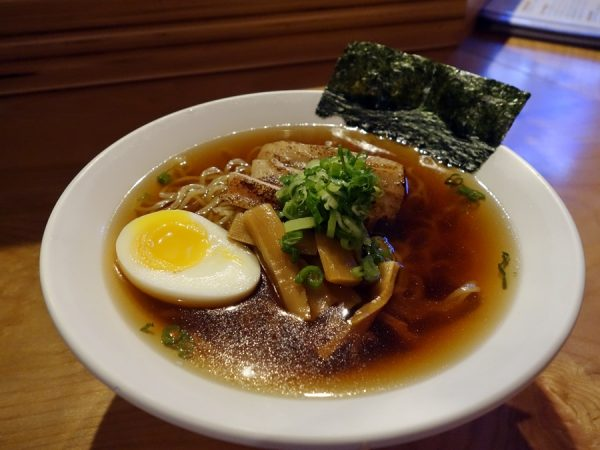 Shoyu ramen ($11) at GoBistro