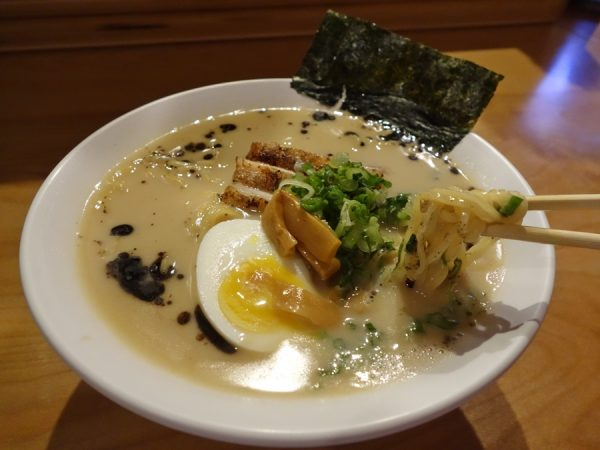 Tonkotsu ramen ($11) at GoBistro