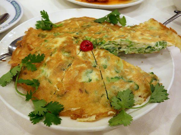 Hoi Tong's bitter melon omelette