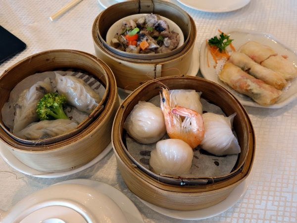 Dim sum selections at Jade Seafood Restaurant