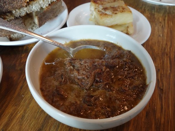 Braised lamb with red wine and orange juice at Navarre (my favorite dish, making me want to order more bread to scoop up every last drop)
