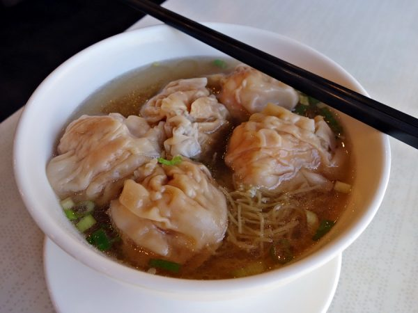 Old Buddies' wonton noodle soup
