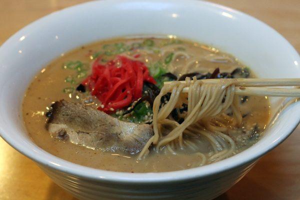 Tonkotsu ramen at Samurai Noodle