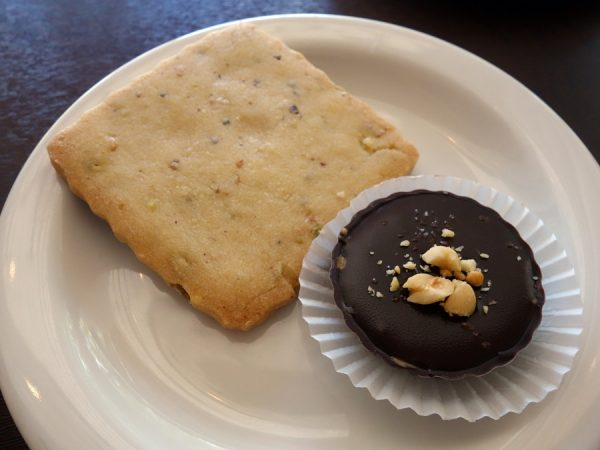 Shortbreads are popular, but better for me was the small peanut butter cup