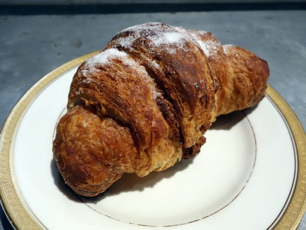 "Knead's butter pecan croissant (not bad, but not a ""wow"")"