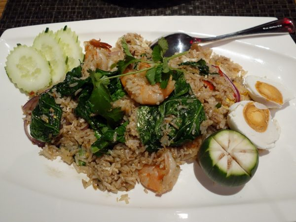 Fried rice with prawns at Lers Ros