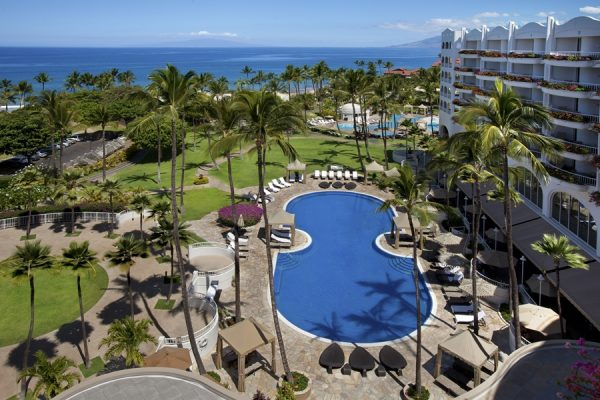 Pool at the Fairmont  (photo courtesy of the Fairmont Kea Lani)