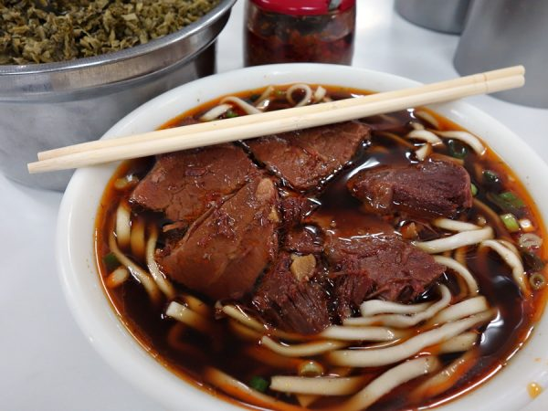 Here's what you want at Taoyuan Street Beef Noodles