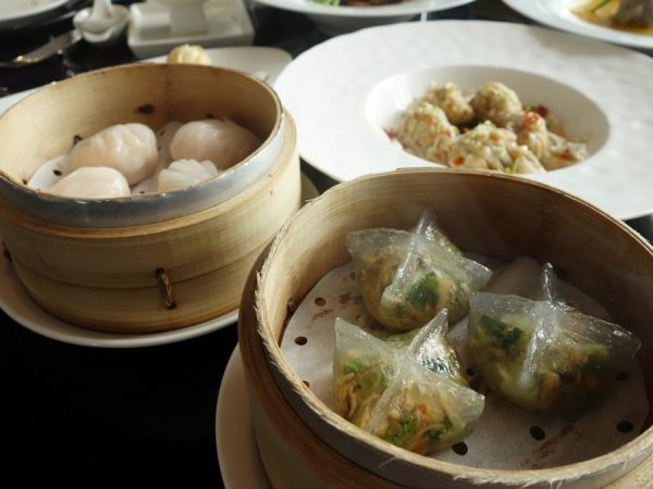 Dim sum trio at the W Taipei's YEN