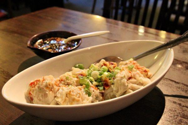 Gourmet Noodle Bowl-dumplings