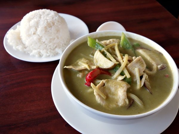 Thai Savon's green curry