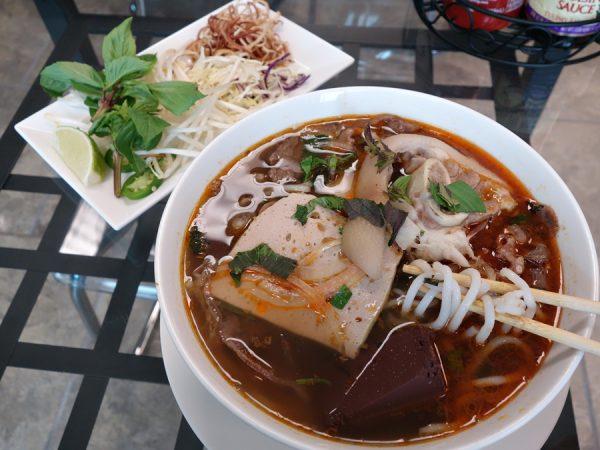Bun bo hue at Dong Thap Noodles