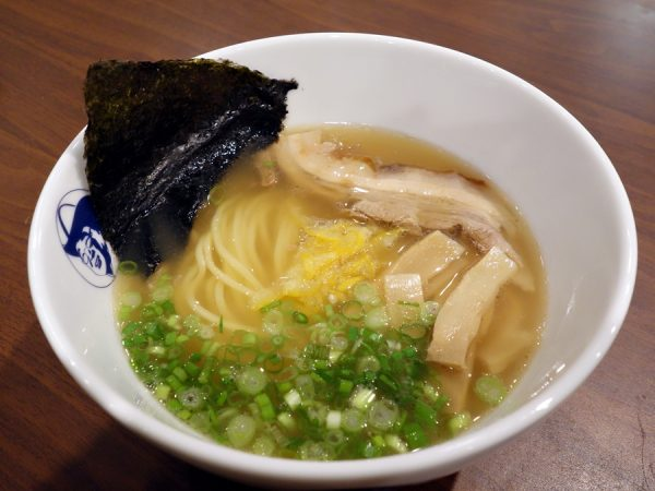 Note all the real yuzu (maybe too much citrus?) in this yuzu-shio ramen ($11). I wish the broth was a little more complex.