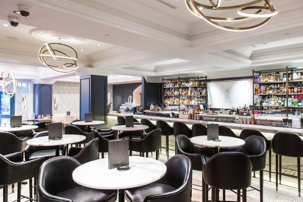 Bar area (photo courtesy of Boulevard Kitchen & Oyster Bar)