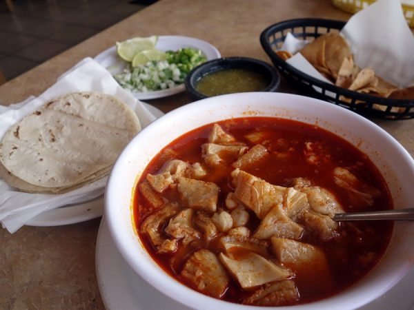 Morning menudo at Ramirez Grocery Store