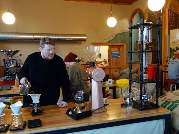 At Rising Star Coffee