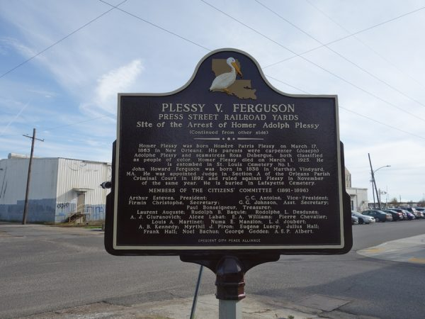 A marker of the civil rights movement.