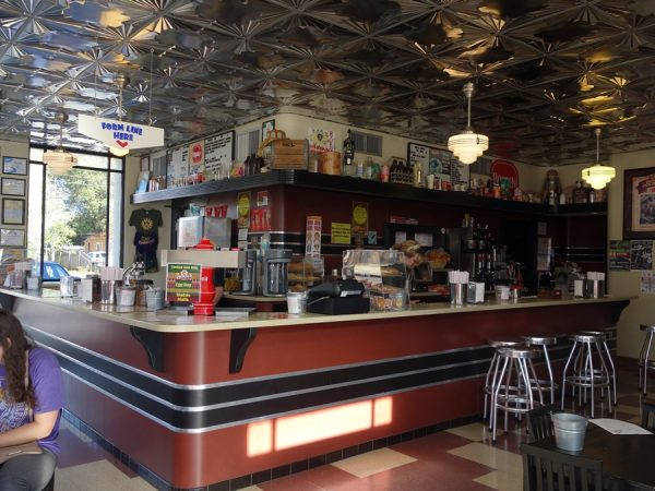 Inside Borden's Ice Cream Shoppe