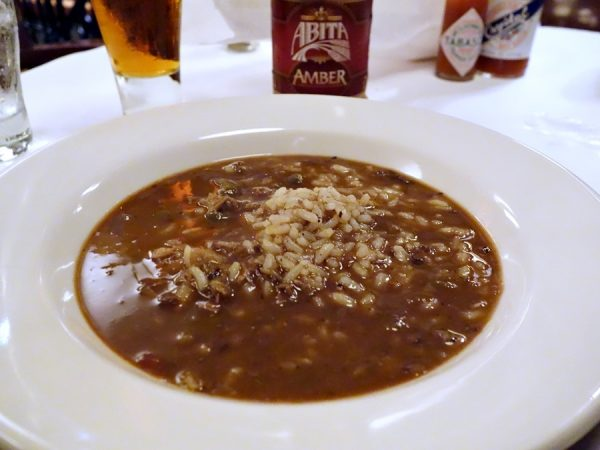 Seafood gumbo at Mr. B's Bistro. (I also liked the gumbo ya ya, with chicken and andouille sausage.)