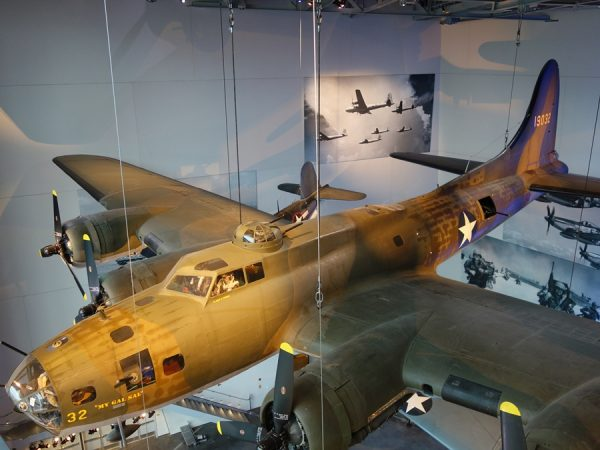 At the National WWII Museum.