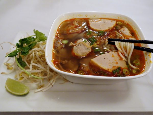 Bun bo hue at Broken Rice
