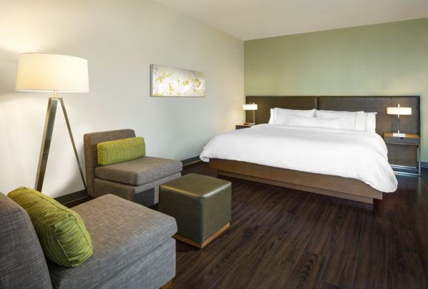 Guest room at Element Vancouver Metrotown (photo courtesy of Element Vancouver Metrotown)