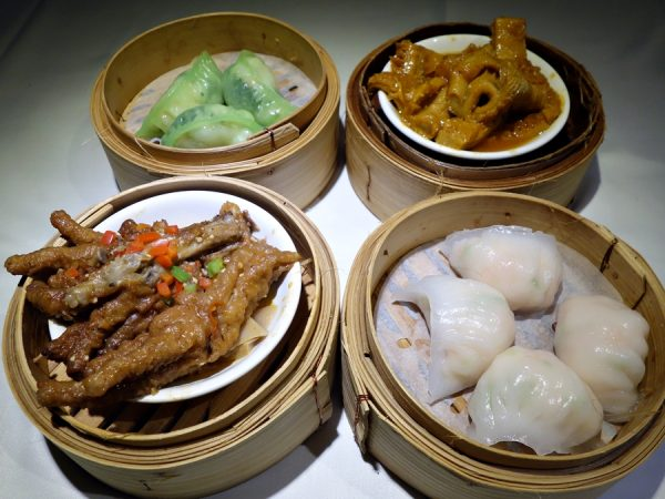 Dim sum quartet at Grand Dynasty Seafood