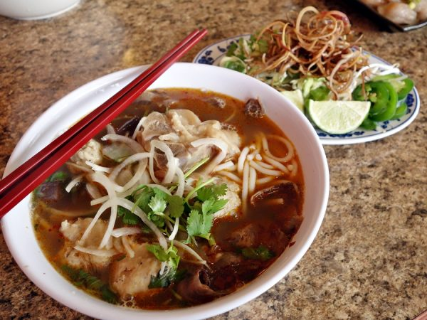Bun bo hue at Hoang Lan