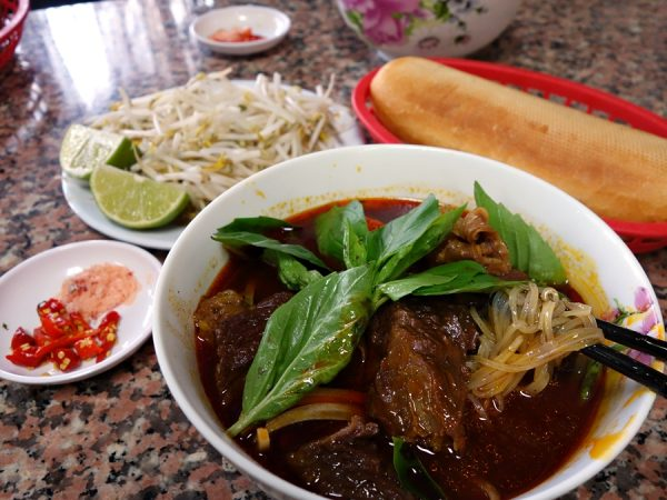 Cafe Huong Que's hu tieu bo kho