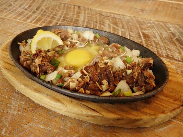 Kulinarya's sizzling sisig