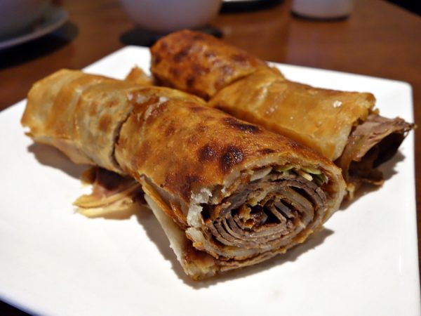 Legend House's beef roll