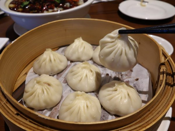 Xiao long bao at Legend House