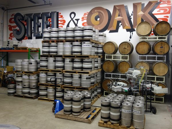 Inside Steel & Oak Brewing Co.