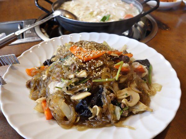 Wonjo BBQ & Noodle Restaurant's jap chae