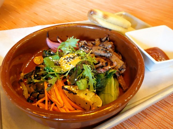 Korean mixed bowl at Ciao Thyme