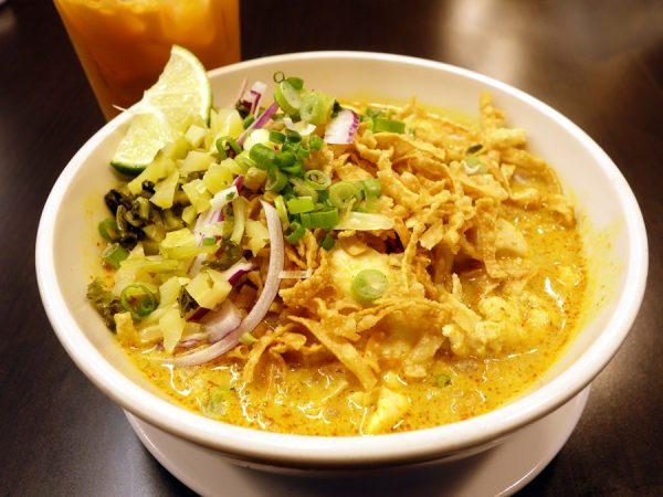 Khao soi at Wanida Thai Cuisine